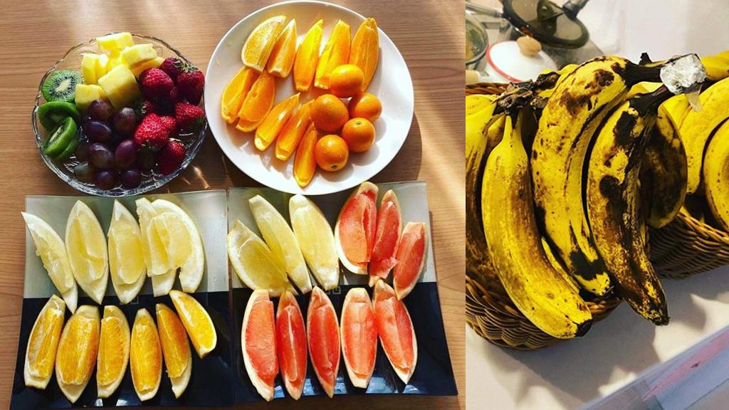 普段も減量期も関係なく毎朝フルーツ